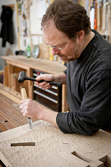 photo of John Kirschenbaum, Woodworker